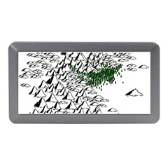 Montains Hills Green Forests Memory Card Reader (mini) by Alisyart