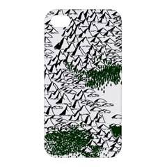 Montains Hills Green Forests Apple Iphone 4/4s Hardshell Case by Alisyart
