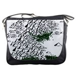 Montains Hills Green Forests Messenger Bag Front