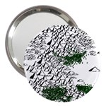 Montains Hills Green Forests 3  Handbag Mirrors Front