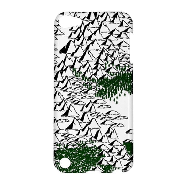 Montains Hills Green Forests Apple iPod Touch 5 Hardshell Case
