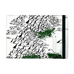 Montains Hills Green Forests Apple Ipad Mini Flip Case by Alisyart