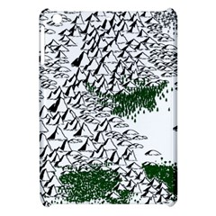 Montains Hills Green Forests Apple Ipad Mini Hardshell Case by Alisyart