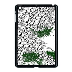Montains Hills Green Forests Apple Ipad Mini Case (black)