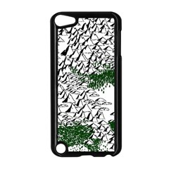 Montains Hills Green Forests Apple Ipod Touch 5 Case (black) by Alisyart