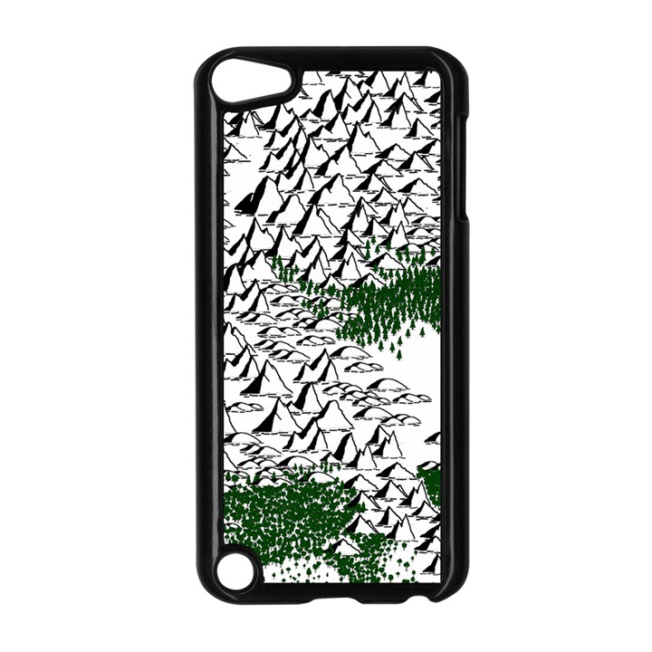 Montains Hills Green Forests Apple iPod Touch 5 Case (Black)