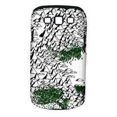 Montains Hills Green Forests Samsung Galaxy S Iii Classic Hardshell Case (pc+silicone)