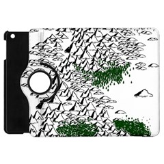 Montains Hills Green Forests Apple Ipad Mini Flip 360 Case