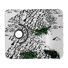 Montains Hills Green Forests Samsung Galaxy S  Iii Flip 360 Case