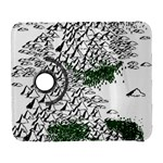 Montains Hills Green Forests Samsung Galaxy S  III Flip 360 Case Front