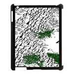 Montains Hills Green Forests Apple iPad 3/4 Case (Black) Front
