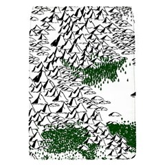 Montains Hills Green Forests Removable Flap Cover (s) by Alisyart