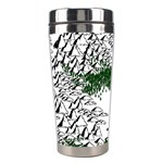 Montains Hills Green Forests Stainless Steel Travel Tumblers Center
