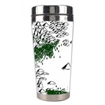 Montains Hills Green Forests Stainless Steel Travel Tumblers Right