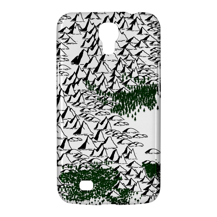 Montains Hills Green Forests Samsung Galaxy Mega 6.3  I9200 Hardshell Case