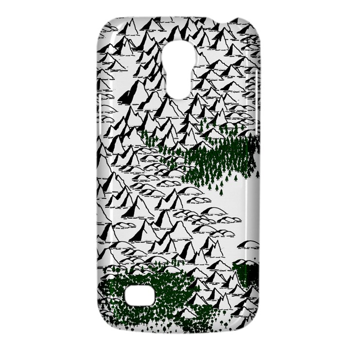 Montains Hills Green Forests Samsung Galaxy S4 Mini (GT-I9190) Hardshell Case