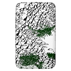Montains Hills Green Forests Samsung Galaxy Tab 3 (8 ) T3100 Hardshell Case