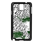 Montains Hills Green Forests Samsung Galaxy Note 3 N9005 Case (Black) Front