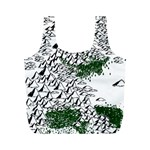 Montains Hills Green Forests Full Print Recycle Bag (M) Back