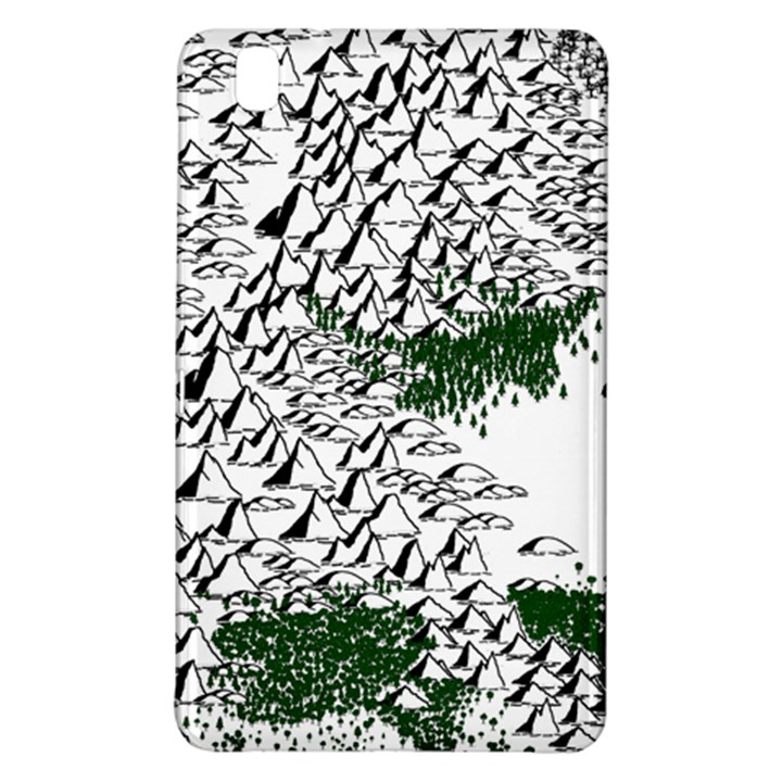 Montains Hills Green Forests Samsung Galaxy Tab Pro 8.4 Hardshell Case