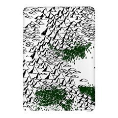 Montains Hills Green Forests Samsung Galaxy Tab Pro 12 2 Hardshell Case by Alisyart