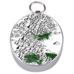 Montains Hills Green Forests Silver Compasses Front