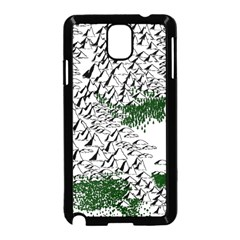Montains Hills Green Forests Samsung Galaxy Note 3 Neo Hardshell Case (black)