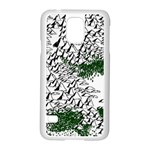 Montains Hills Green Forests Samsung Galaxy S5 Case (White) Front