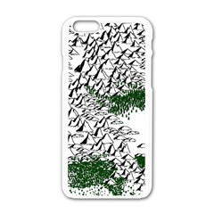 Montains Hills Green Forests Apple Iphone 6/6s White Enamel Case