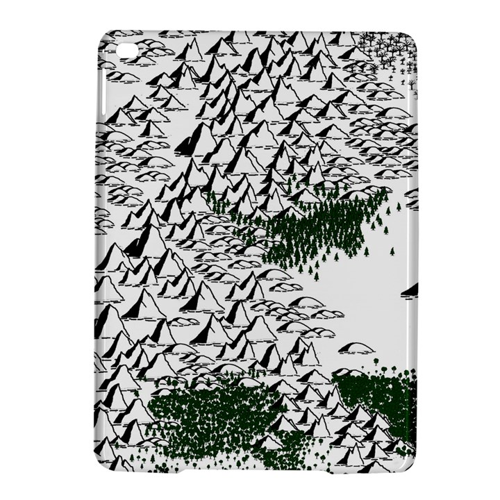 Montains Hills Green Forests iPad Air 2 Hardshell Cases