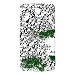 Montains Hills Green Forests Samsung Galaxy Mega I9200 Hardshell Back Case