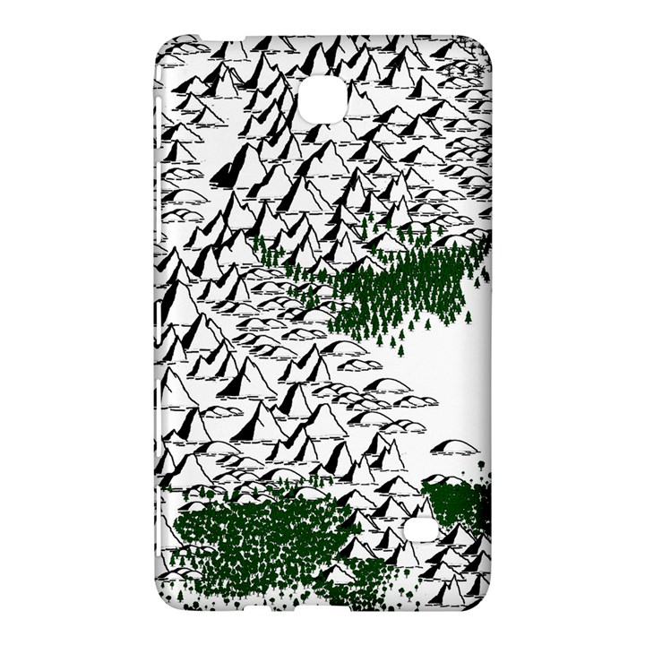 Montains Hills Green Forests Samsung Galaxy Tab 4 (8 ) Hardshell Case