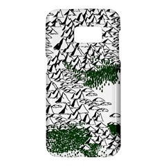 Montains Hills Green Forests Samsung Galaxy S7 Hardshell Case  by Alisyart