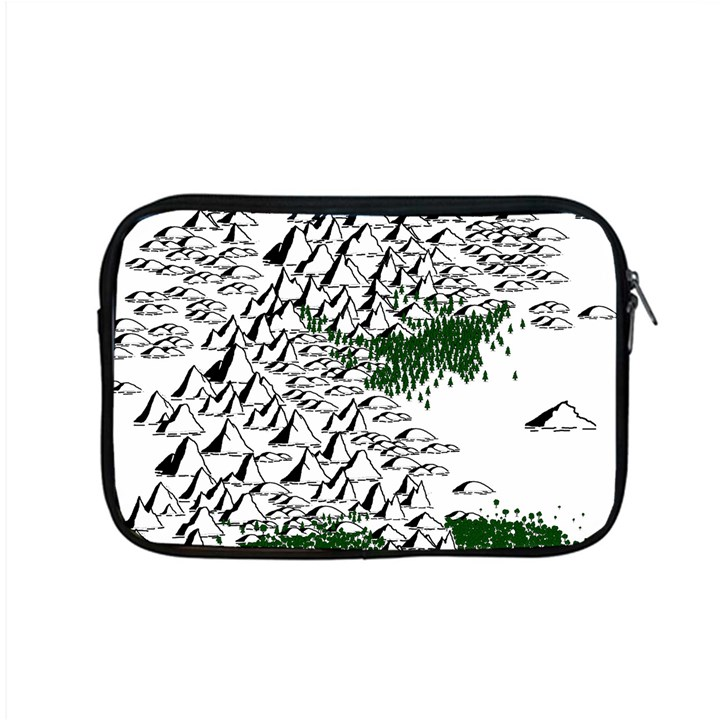 Montains Hills Green Forests Apple MacBook Pro 15  Zipper Case