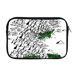 Montains Hills Green Forests Apple Macbook Pro 17  Zipper Case
