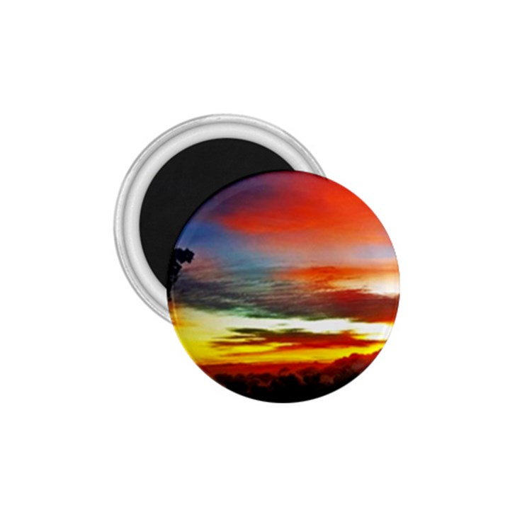 Sunset Mountain Indonesia Adventure 1.75  Magnets