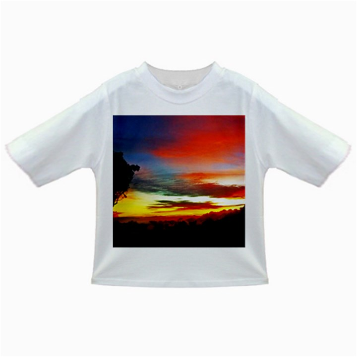 Sunset Mountain Indonesia Adventure Infant/Toddler T-Shirts