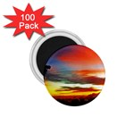 Sunset Mountain Indonesia Adventure 1.75  Magnets (100 pack)  Front