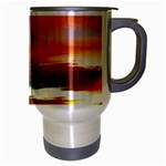 Sunset Mountain Indonesia Adventure Travel Mug (Silver Gray) Right