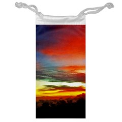 Sunset Mountain Indonesia Adventure Jewelry Bag
