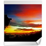 Sunset Mountain Indonesia Adventure Canvas 20  x 24  24 x20 Canvas - 1