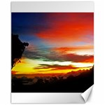 Sunset Mountain Indonesia Adventure Canvas 11  x 14  14 x11 Canvas - 1
