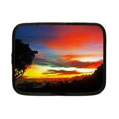 Sunset Mountain Indonesia Adventure Netbook Case (Small)