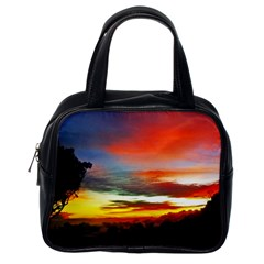 Sunset Mountain Indonesia Adventure Classic Handbag (One Side)