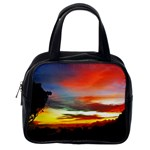 Sunset Mountain Indonesia Adventure Classic Handbag (Two Sides) Back