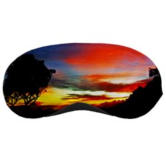 Sunset Mountain Indonesia Adventure Sleeping Masks by Nexatart