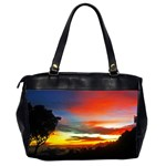 Sunset Mountain Indonesia Adventure Oversize Office Handbag (2 Sides) Back