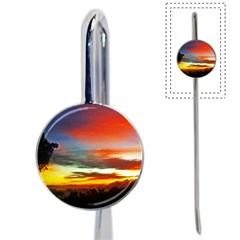 Sunset Mountain Indonesia Adventure Book Mark