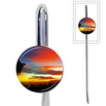 Sunset Mountain Indonesia Adventure Book Mark Front