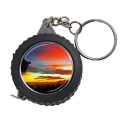 Sunset Mountain Indonesia Adventure Measuring Tape by Nexatart